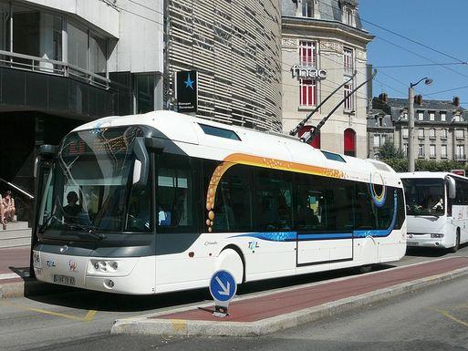 Slider trolleybus cristalis ligne 4