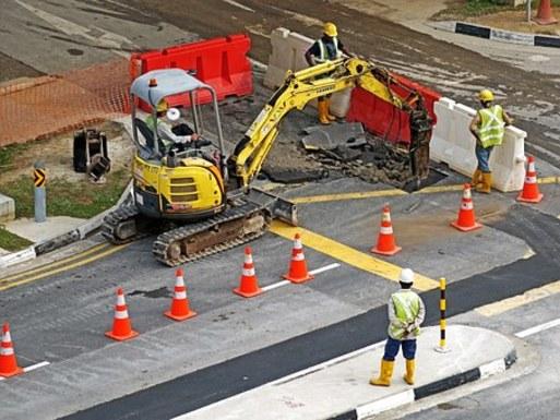 Slider excavators