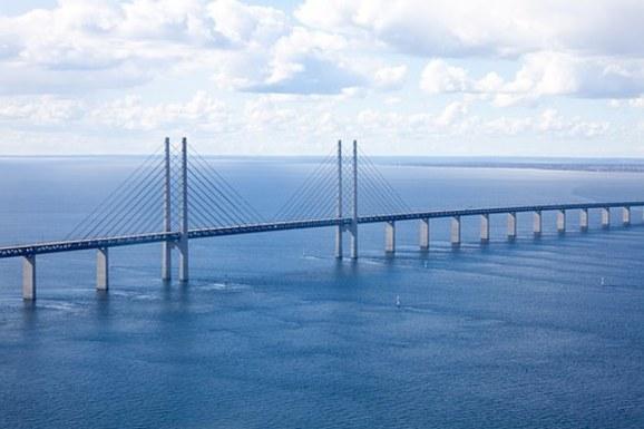 Slider the oresund bridge