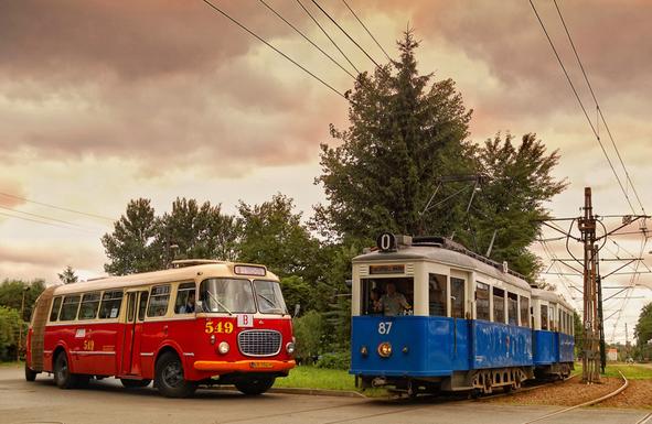 Slider krakow museum line