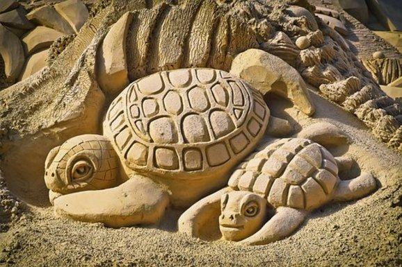 Slider sand
