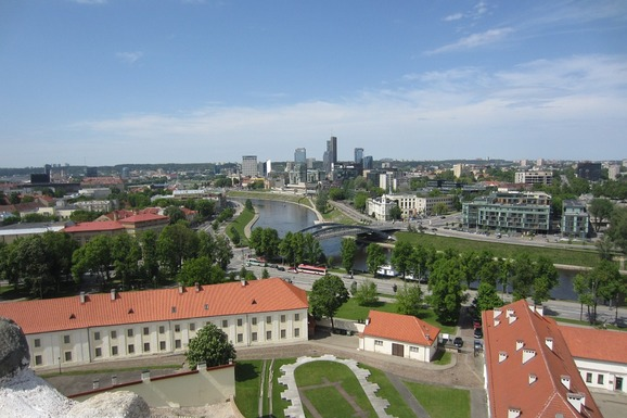 Slider vilnius city panorama baltic europe lithuania 443447