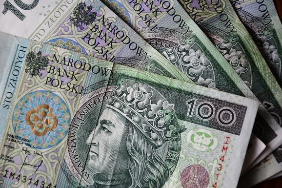 Slider polish zloty