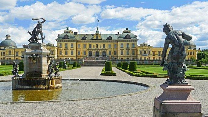 Slider drottningholm palace