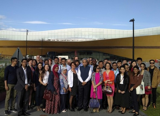 Slider international city delegation participating in the urban leds ii project study trip