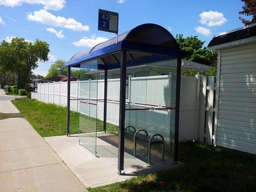 Slider bus stop