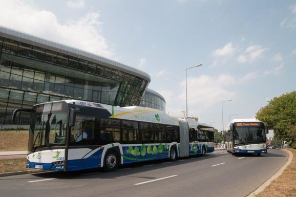 Slider krakow electric buses