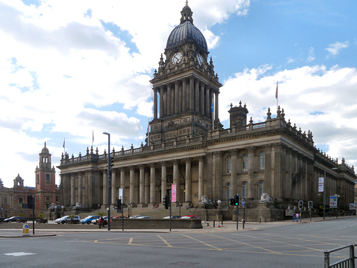 Slider leeds town hall  victoria square  geograph 3485890