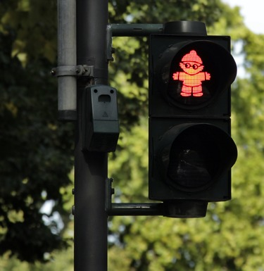 Slider traffic lights