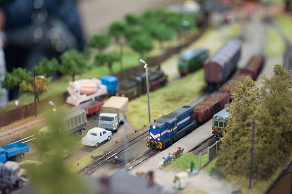 Slider model train
