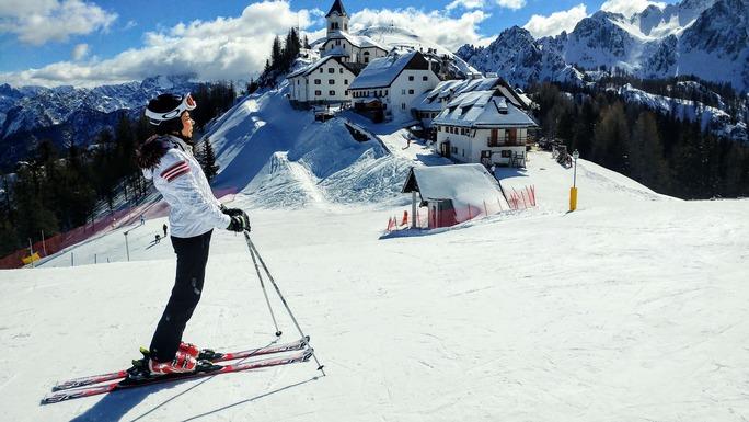 Slider ski