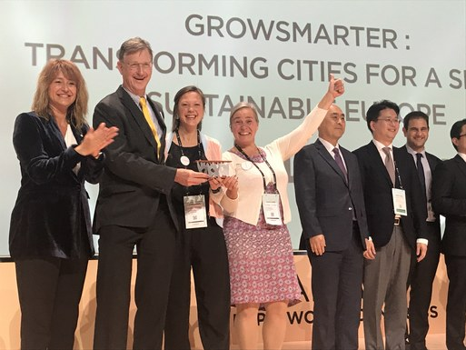 Slider stockholm wins world smart city award