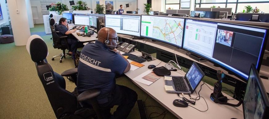 Slider control room amsterdam