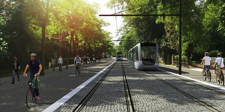 Slider lund tram