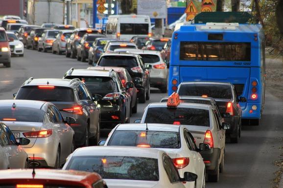 Slider traffic jam