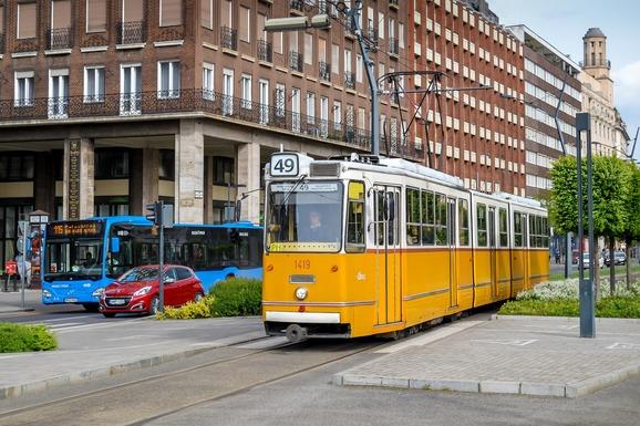 Slider budapest transport