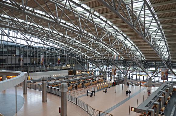 Slider flughafen hamburg airport terminal 2 2012 02