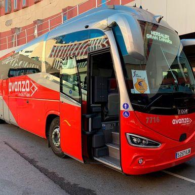 Slider avanza bus