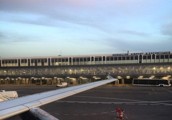 Slider heraklion international airport
