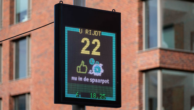 Slider speedometer  photo by arnaud roelofsz for city of the hague