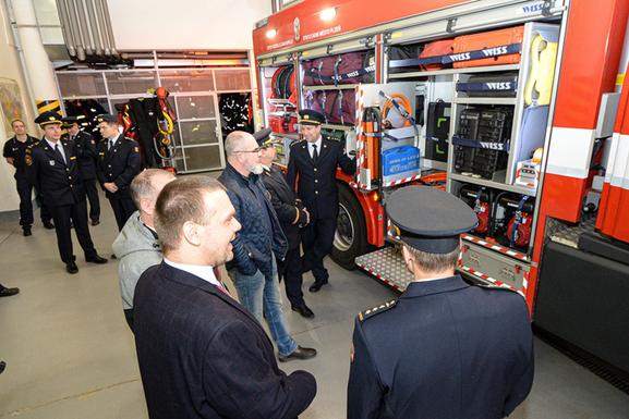Slider pilsen new firefighting truck