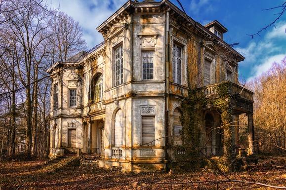 Slider abandoned building