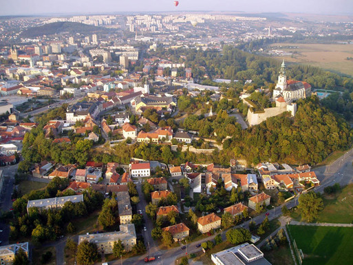Slider nitra view from above