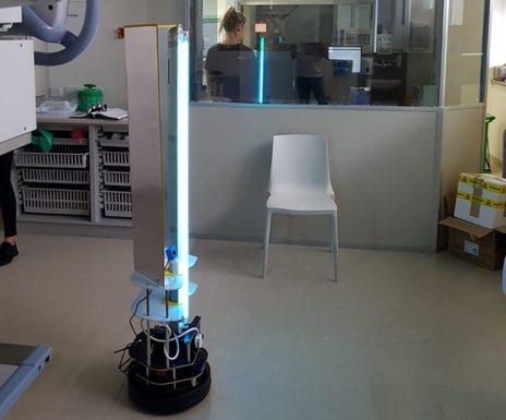 Slider robot violet