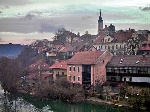 Slider novo mesto slovenia hillside