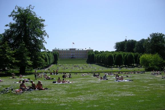 Slider frederiksberg have   palace