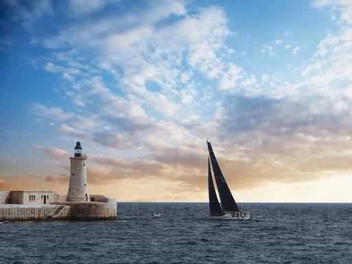 Slider malta sea and sky