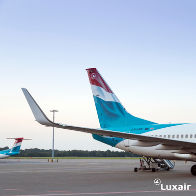 Slider luxair luxembourg airlines