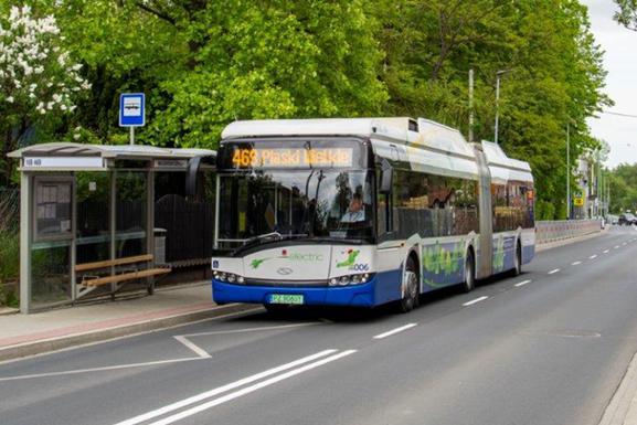 Slider emissions free bus   krakowski holding komunalny sa