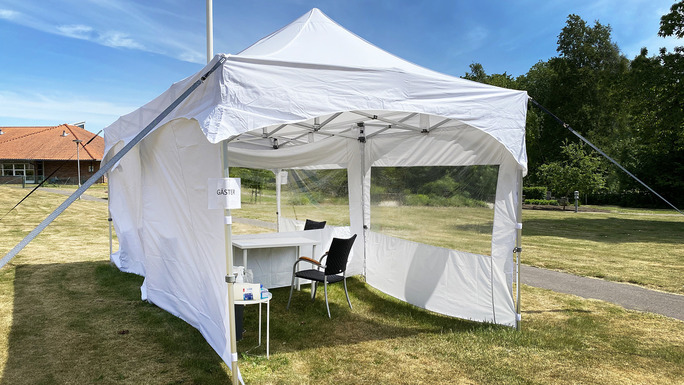 Slider helsingborg care homes tents