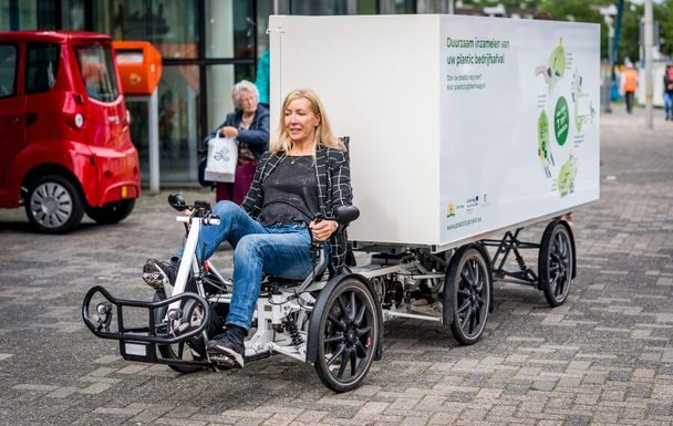 Slider cargobike in the hague   plasticity project