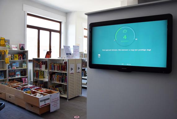 Slider telly    leuven library  2