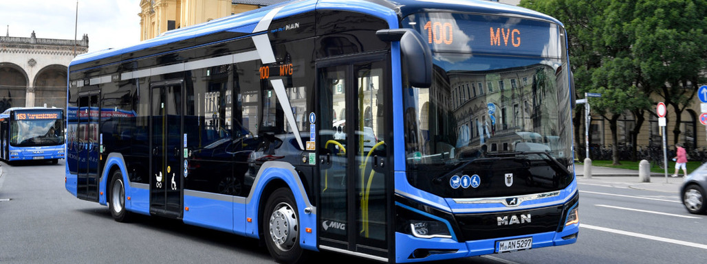 Slider mvg elektro bus line 100