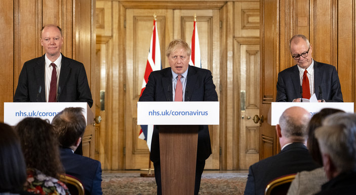 Slider boris johnson covid