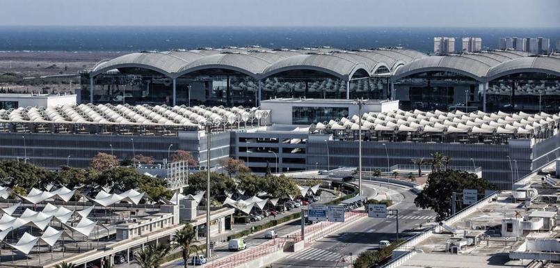 Slider alicante airport