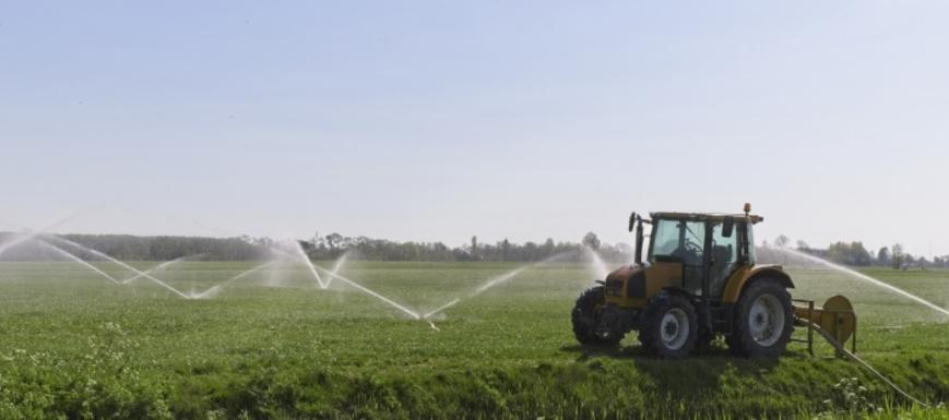 Slider irrigation