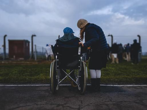 Slider young caregiver