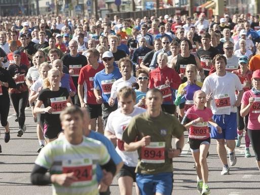 Slider tallinn marathon