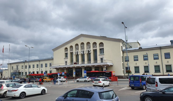Slider vilnius airport main entrance