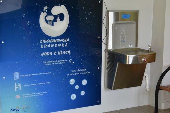 Slider tap water distribution ciechanow 15.09.2020