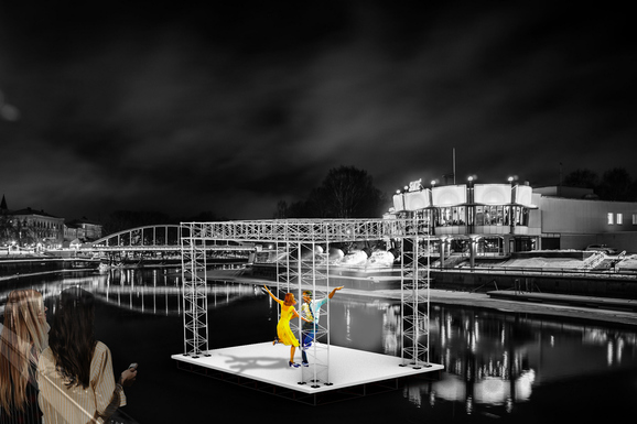 Slider tartu   floating stage