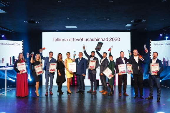 Slider tallinn entrepreneurship awards