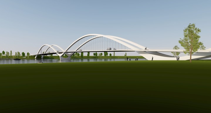 Slider parnu swan bridge 3d visuaal 2