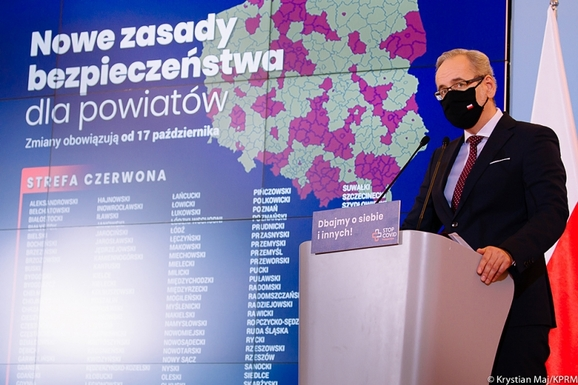 Slider poland red zone map krystian maj    chancellery of the prime minister