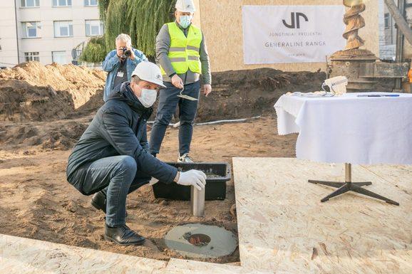 Slider vilnius hospital annex time capsule