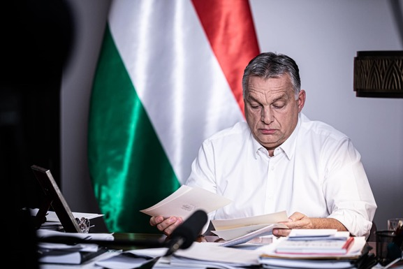 Slider victor orban facebook state of emergency